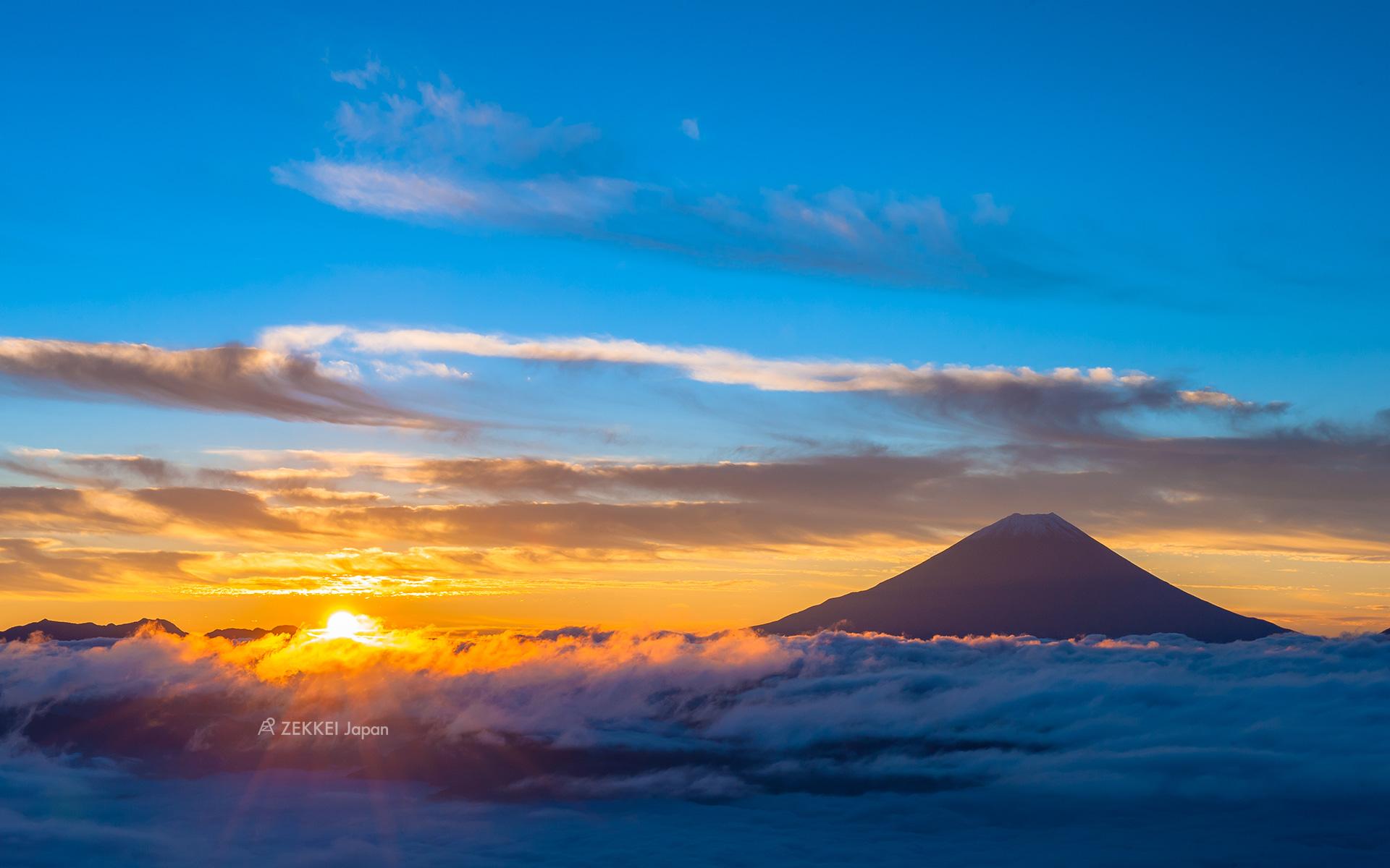 「富士山 雲海」的圖片搜尋結果