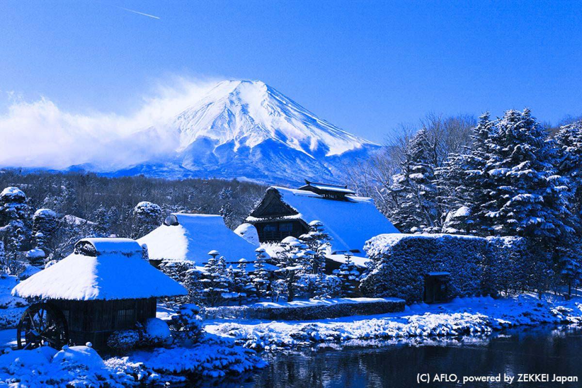 忍野 山梨 富士山