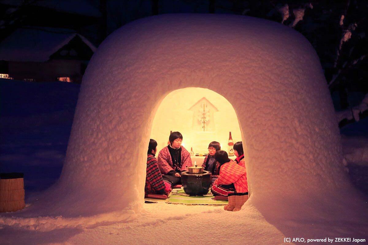 旅游 日本 雪