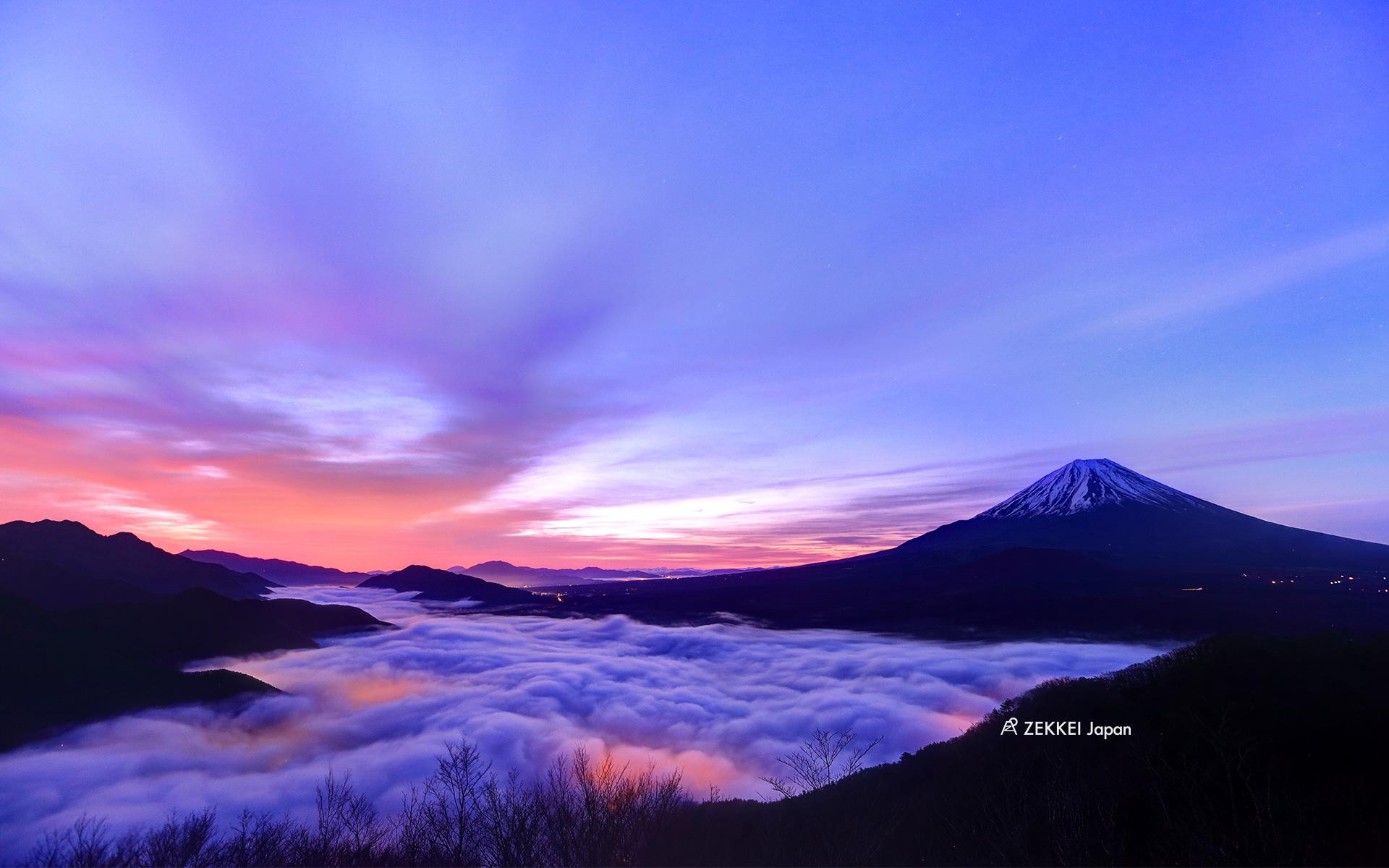 あなたのパソコン スマホに絶景を 梅雨が明けたら富士山に登ろう