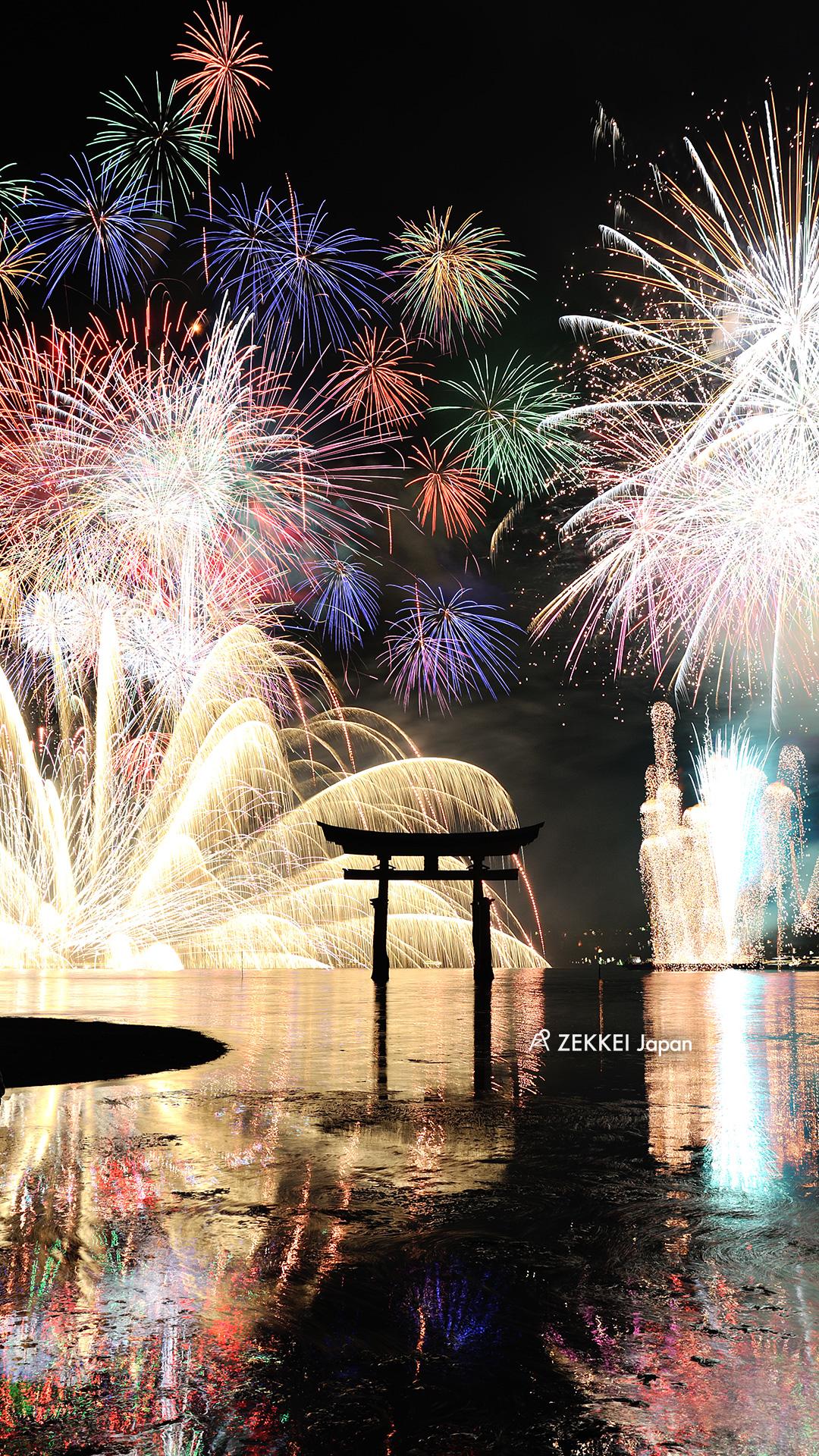 あなたのパソコン スマホに絶景を 夏を彩る花火のzekkei壁紙をプレゼント Zekkei Japan