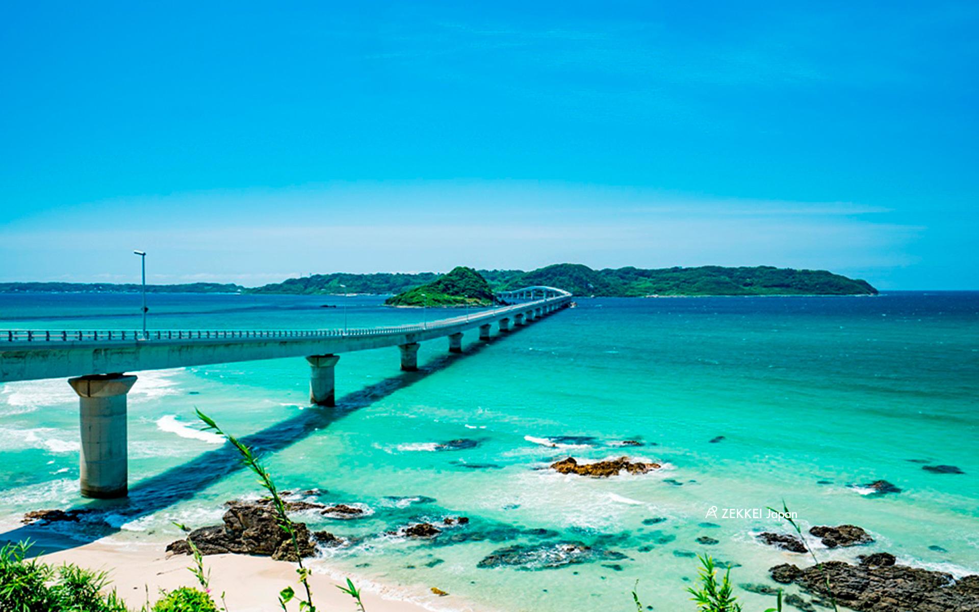 あなたのパソコン スマホに絶景を 海にかかる橋のzekkei壁紙をプレゼント Zekkei Japan