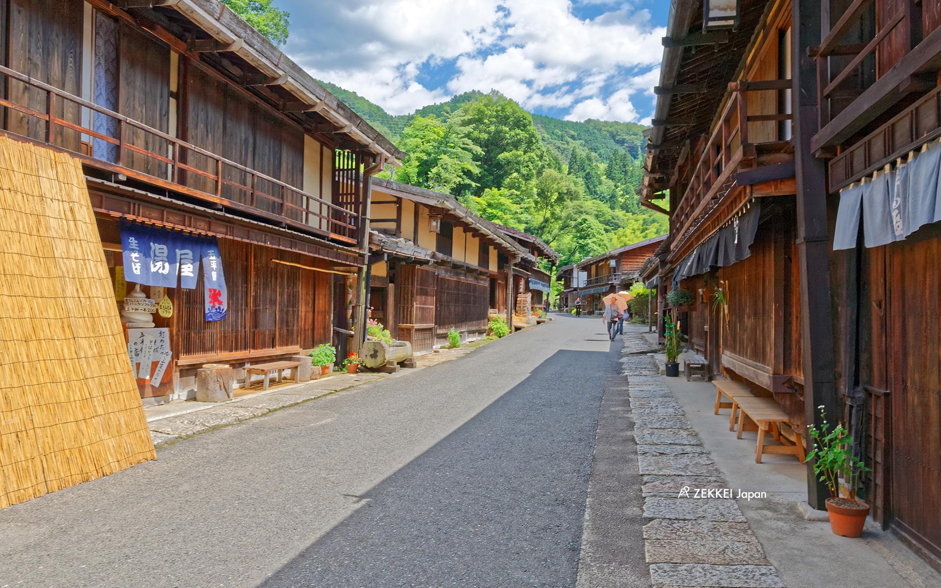あなたのパソコン スマホに絶景を ノスタルジックな古い街並みの絶景壁紙をプレゼント Zekkei Japan