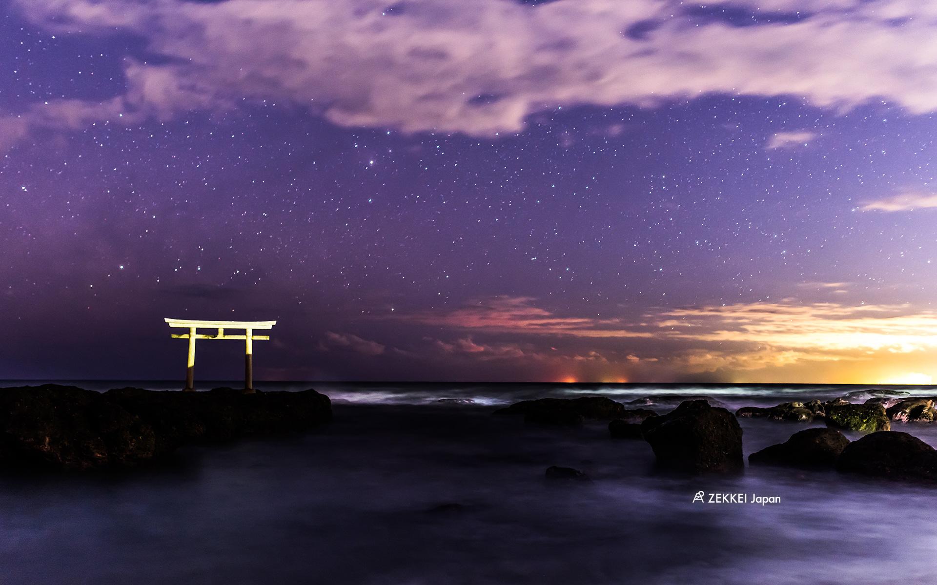 絶景壁紙 綺麗な冬の星空の絶景壁紙をあなたの待ち受けに Zekkei Japan
