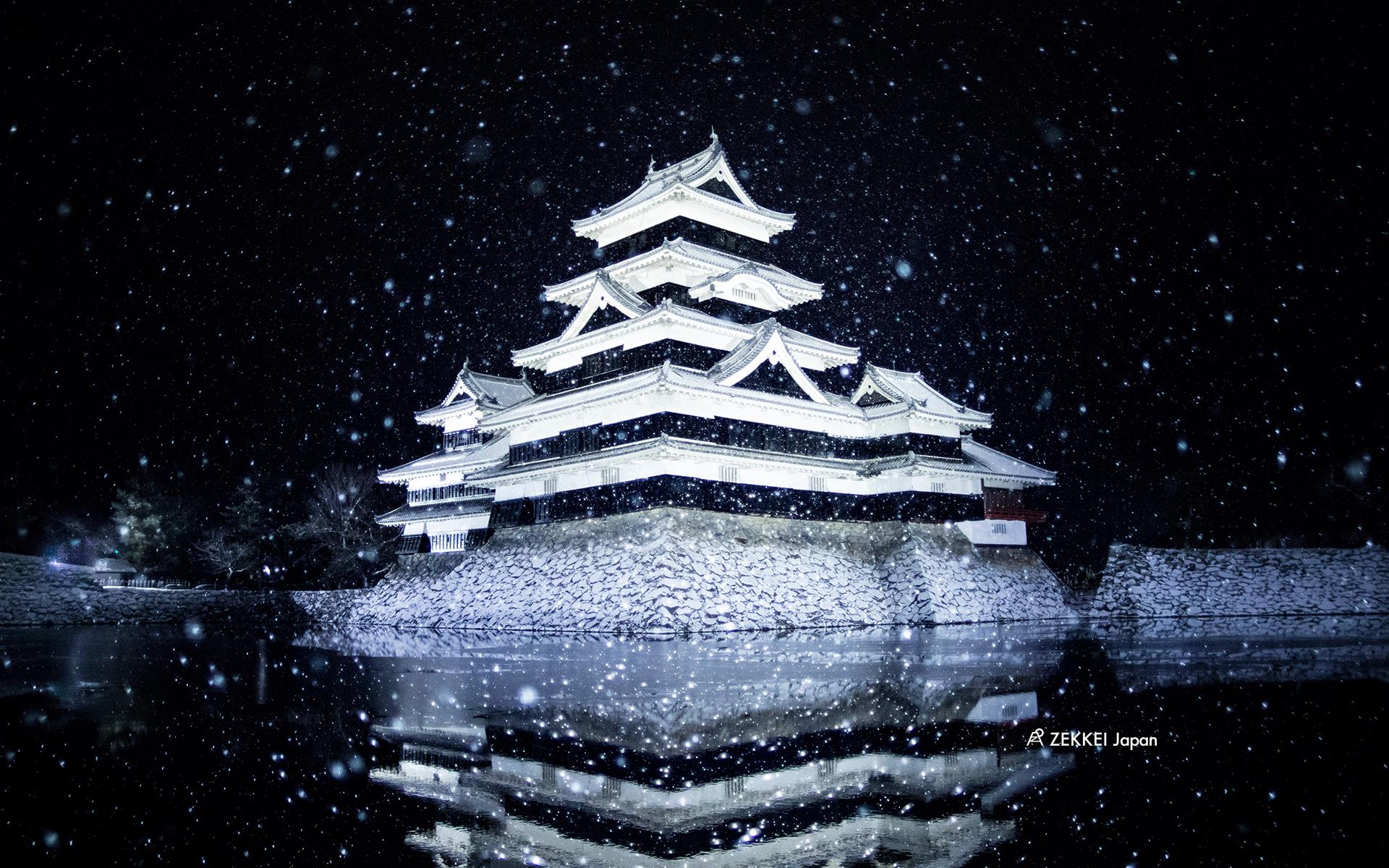 絶景壁紙 四季折々 日本の名城 の壁紙をあなたの待ち受けに Zekkei Japan