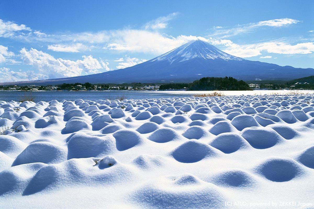 Snow Mt Fuji Yamanashi
