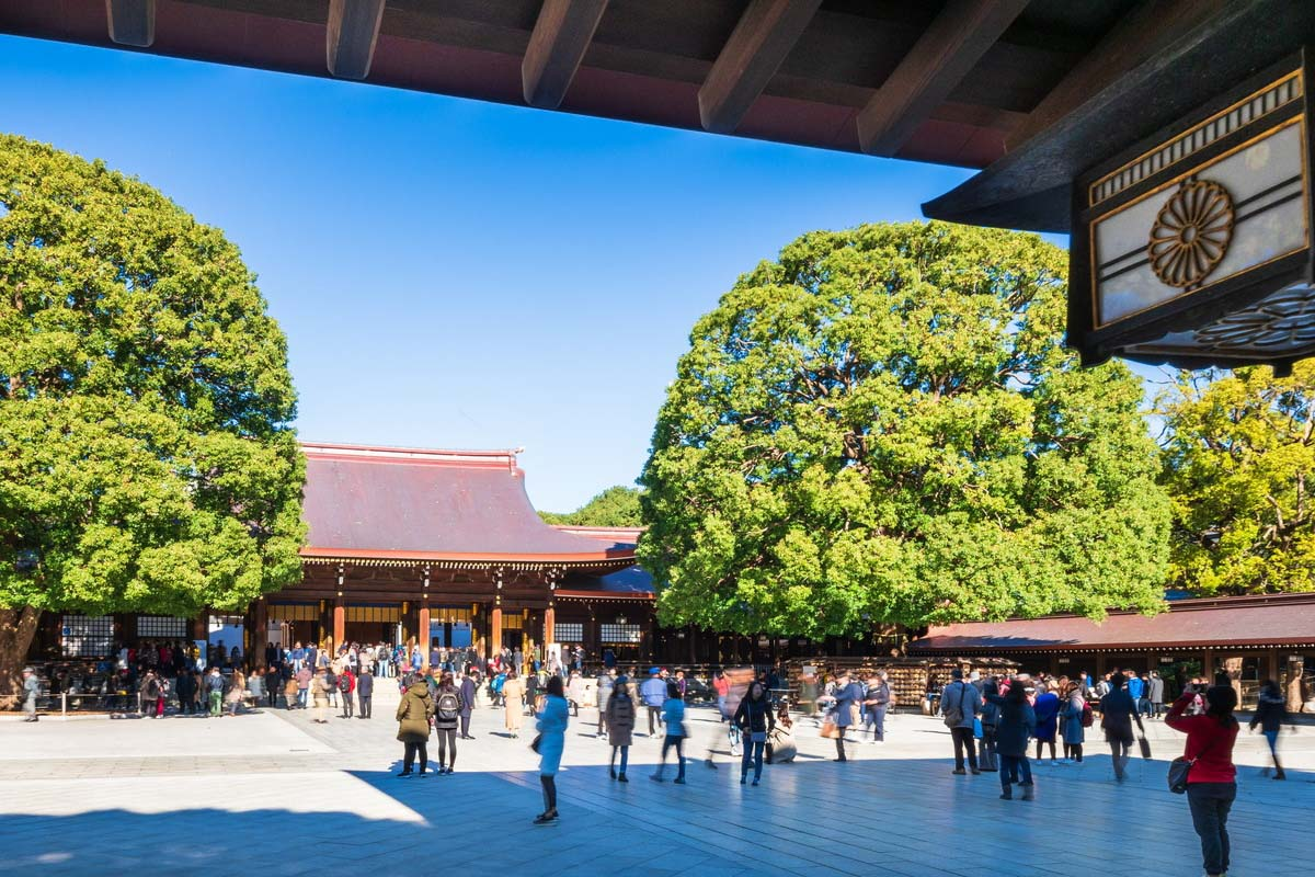 日本 旅遊 明治神宮