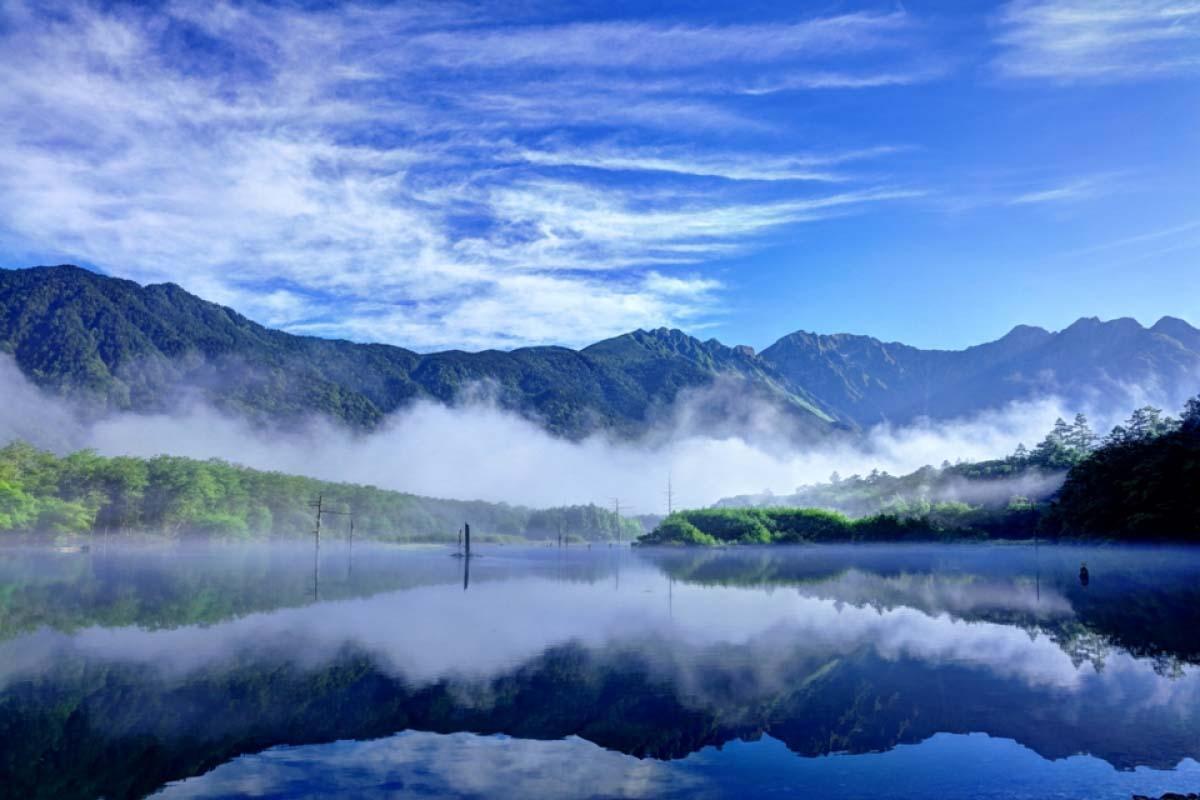 大正池 长野 日本
