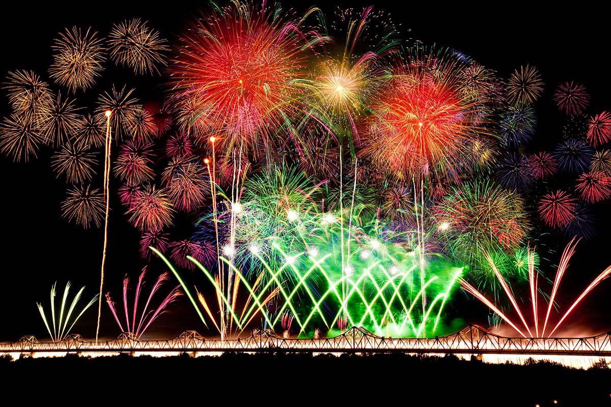 Nagaoka Festival Fireworks Niigata