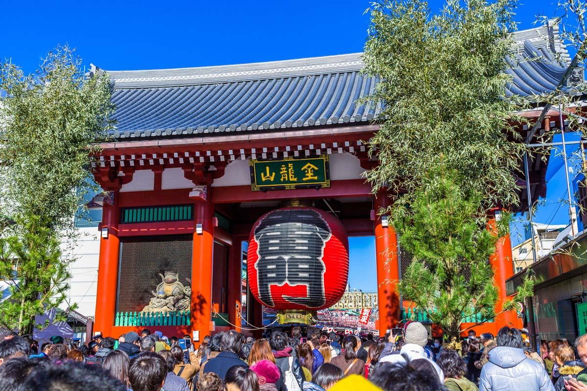 浅草 旅游 日本
