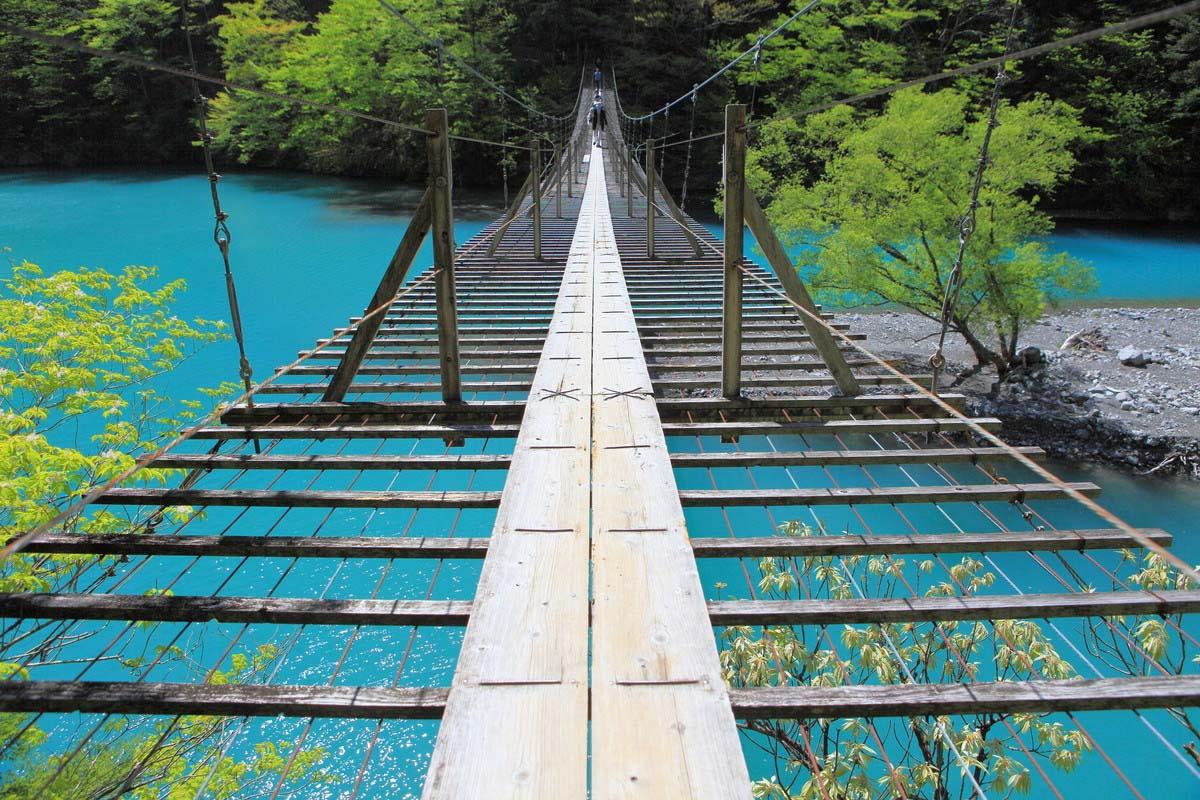 夢の吊り橋 寸又峡 静岡