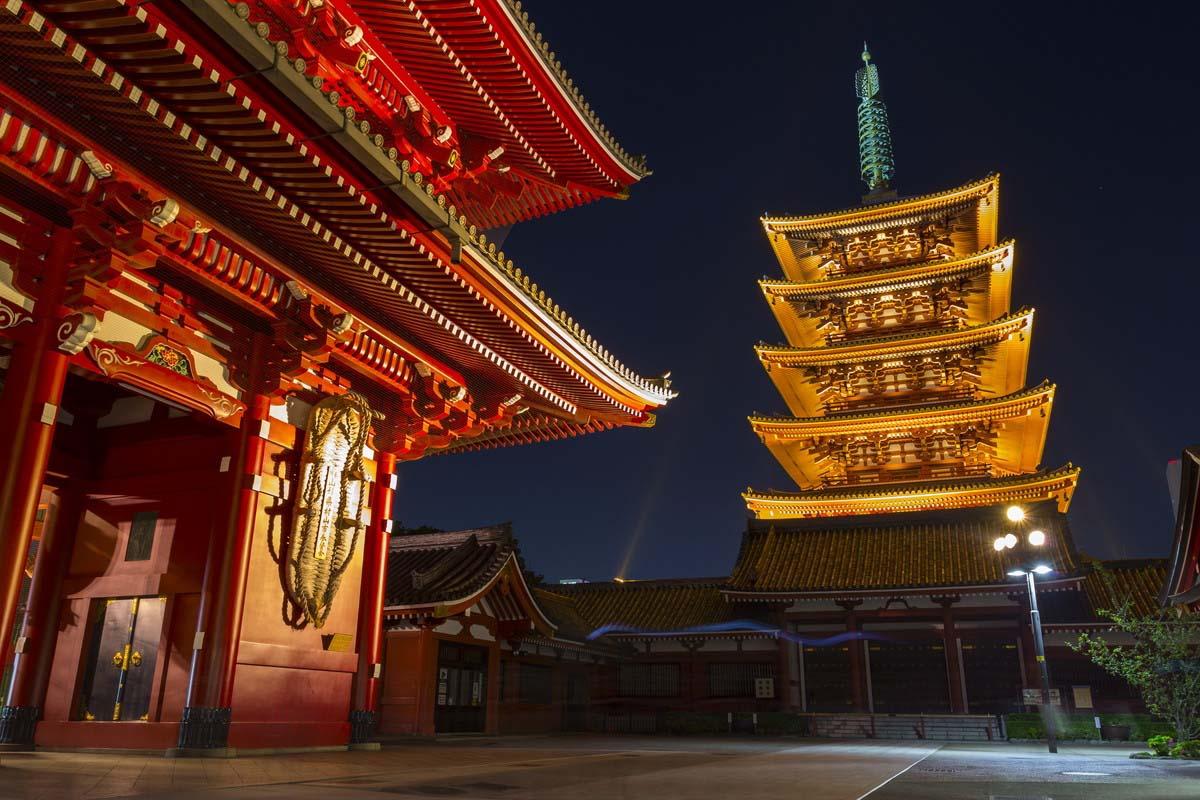日本 旅遊 淺草