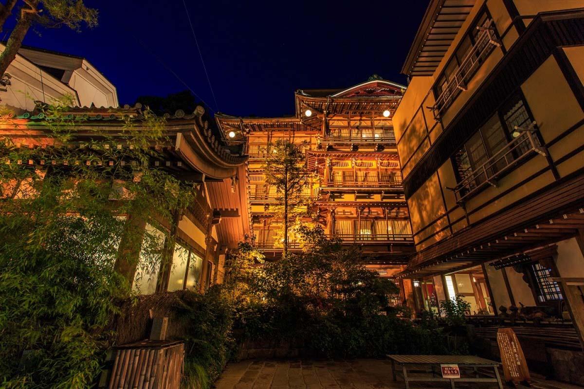 渋温泉 長野 旅行
