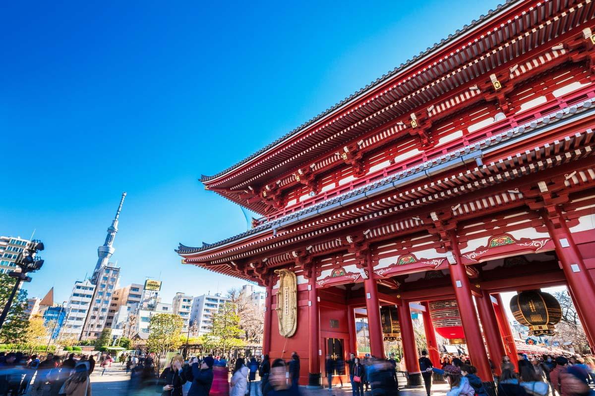 日本 旅遊 淺草寺