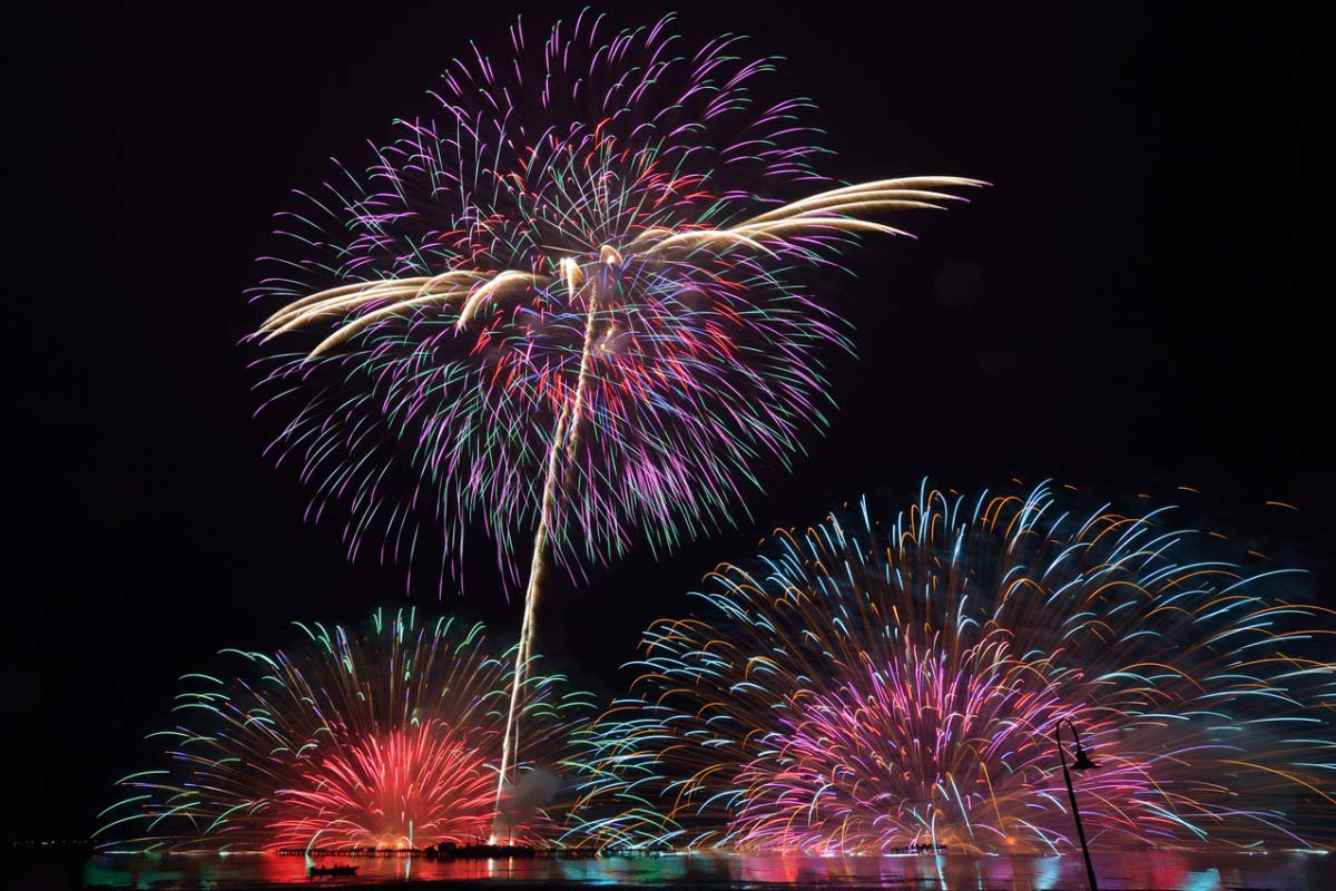 Nationwide Fireworks Competition Festival Nagano