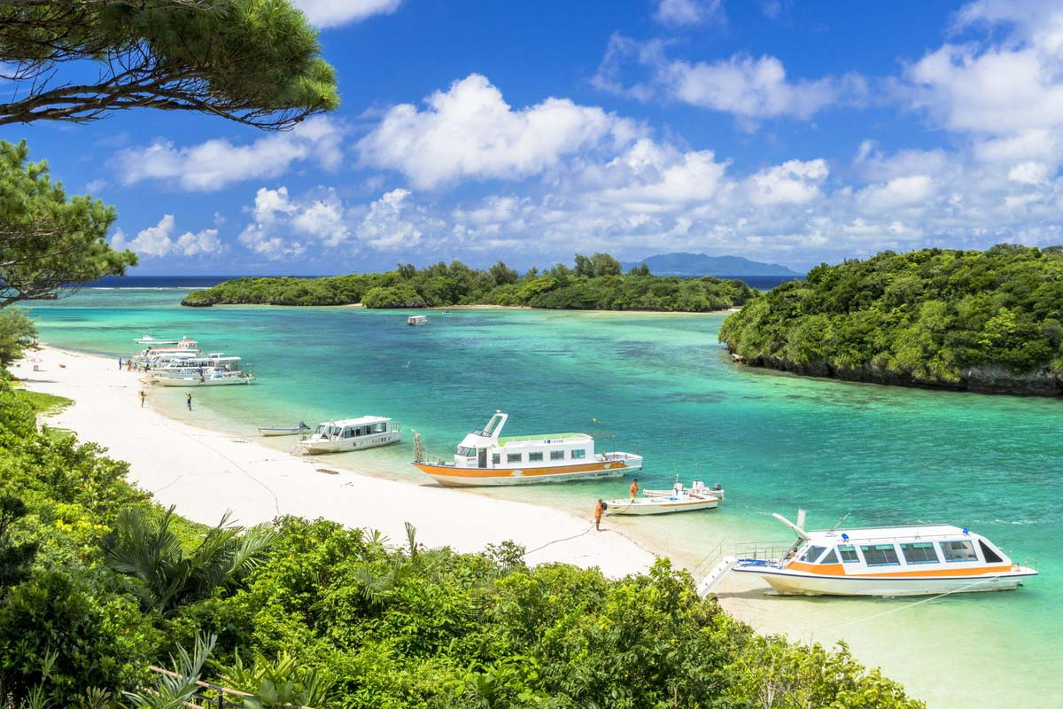 Okinawa sea beach summer