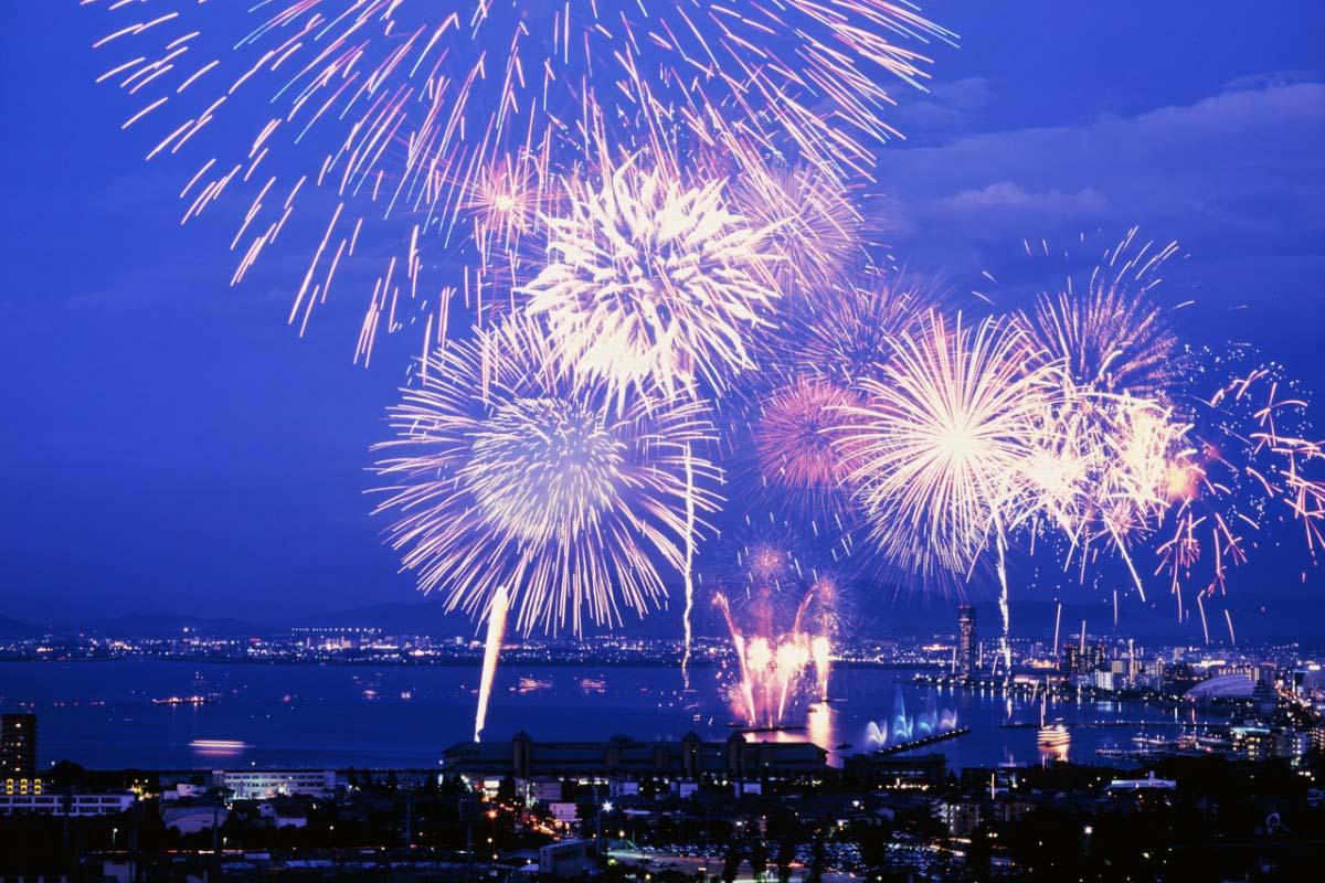 Lake Biwa Fireworks Festival Shiga